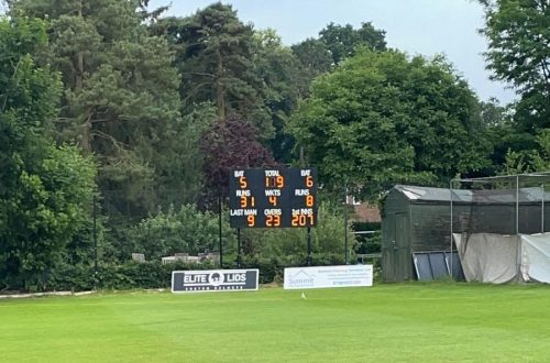 Electronic Scoreboard Victory Ground